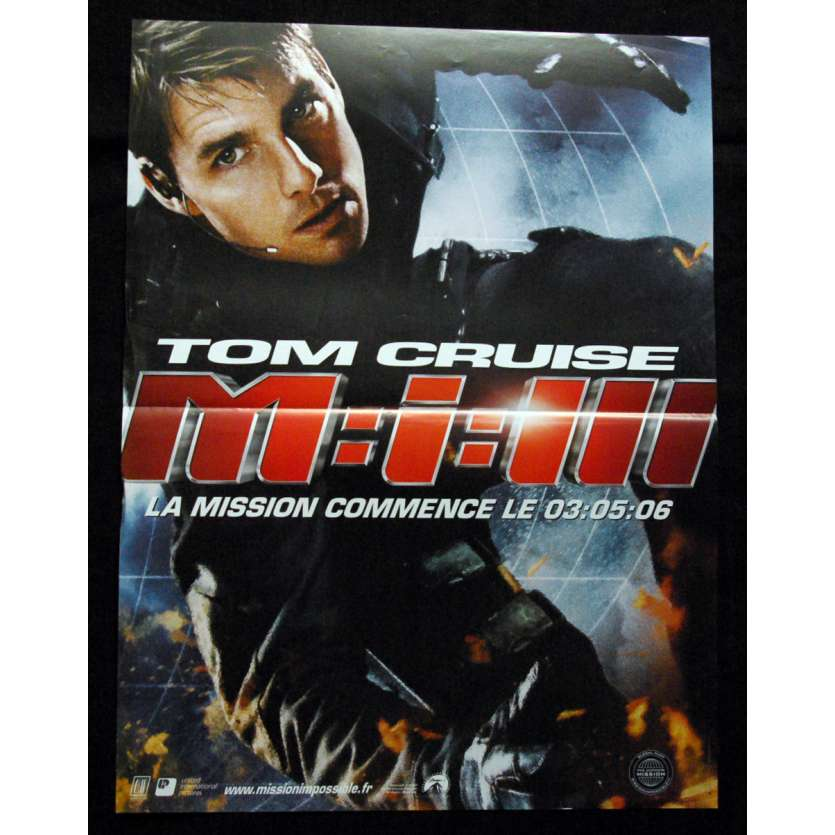 'MI3 Mission Impossible Affiche 120x160 FR ''06 Tom Cruise movie Poster'