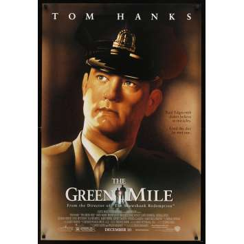 GREEN MILE advance DS 1sh '99 Tom Hanks, Michael Clarke Duncan, Stephen King fantasy