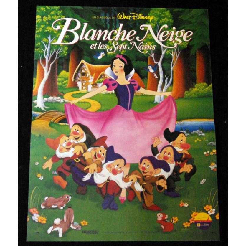 BLANCHE NEIGE Affiche 40x60 FR R92 Walt Disney Classic Movie Poster
