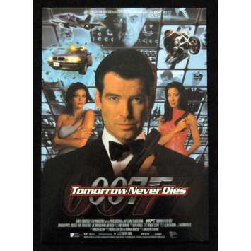 JAMES BOND Tomorrow never dies Standee 8x11 '97 P. Brosnan 00
