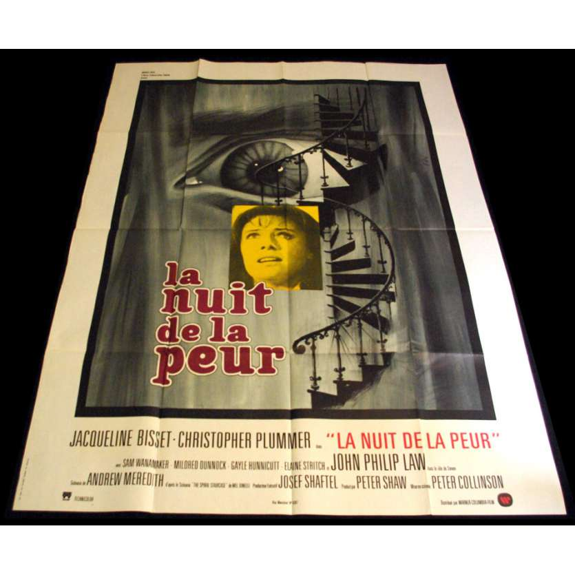 SPIRAL STAIRCASE French Movie Poster 47x63 '75 Jacqueline Bisset