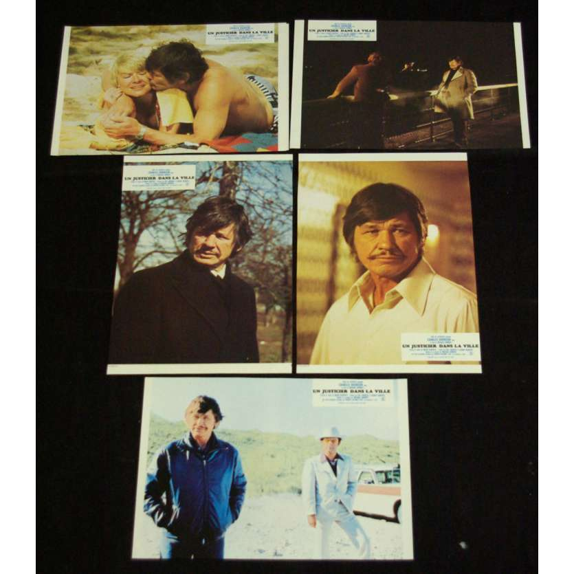 DEATH WISH Lobby cards x6 FR '74 Charles Bronson