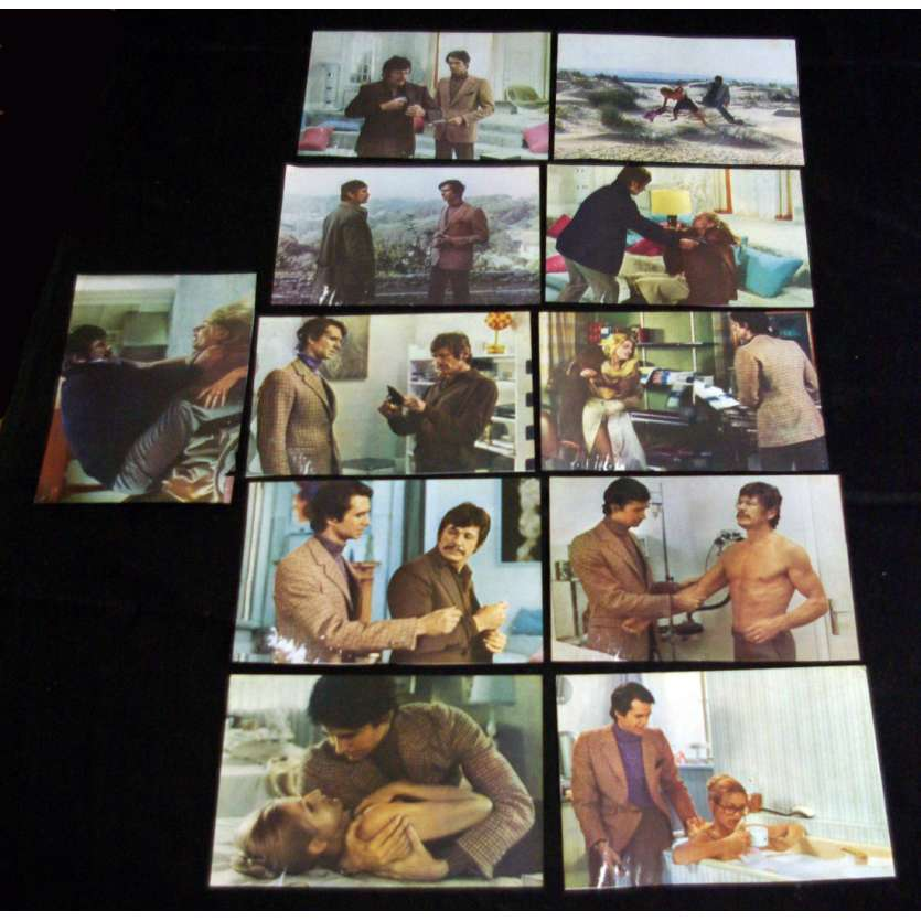 SOMEONE BEHIND THE DOOR Lobby cards x11 FR '70 Charles Bronson