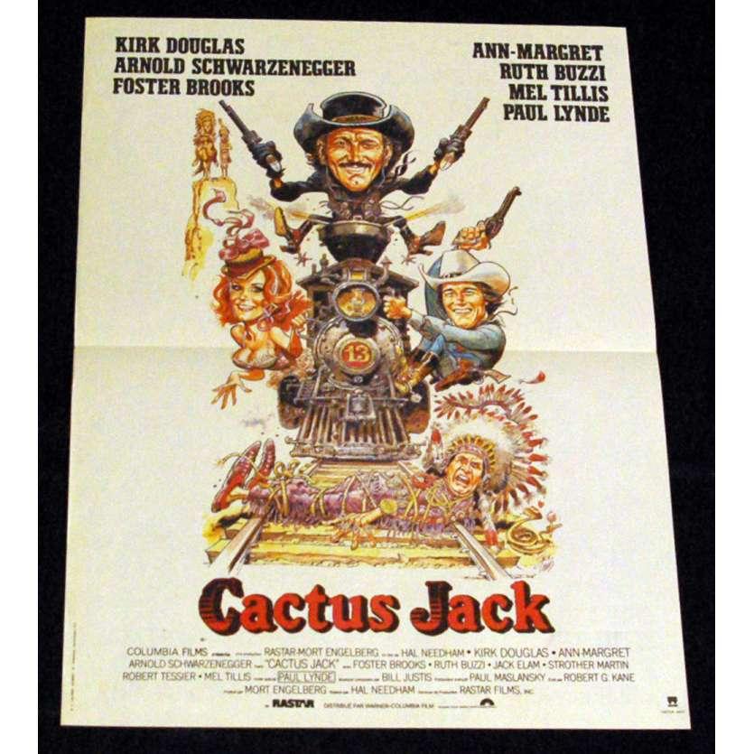 VILLAIN French Movie Poster 15x21 '79 Schwarzenegger, Kirk Douglas