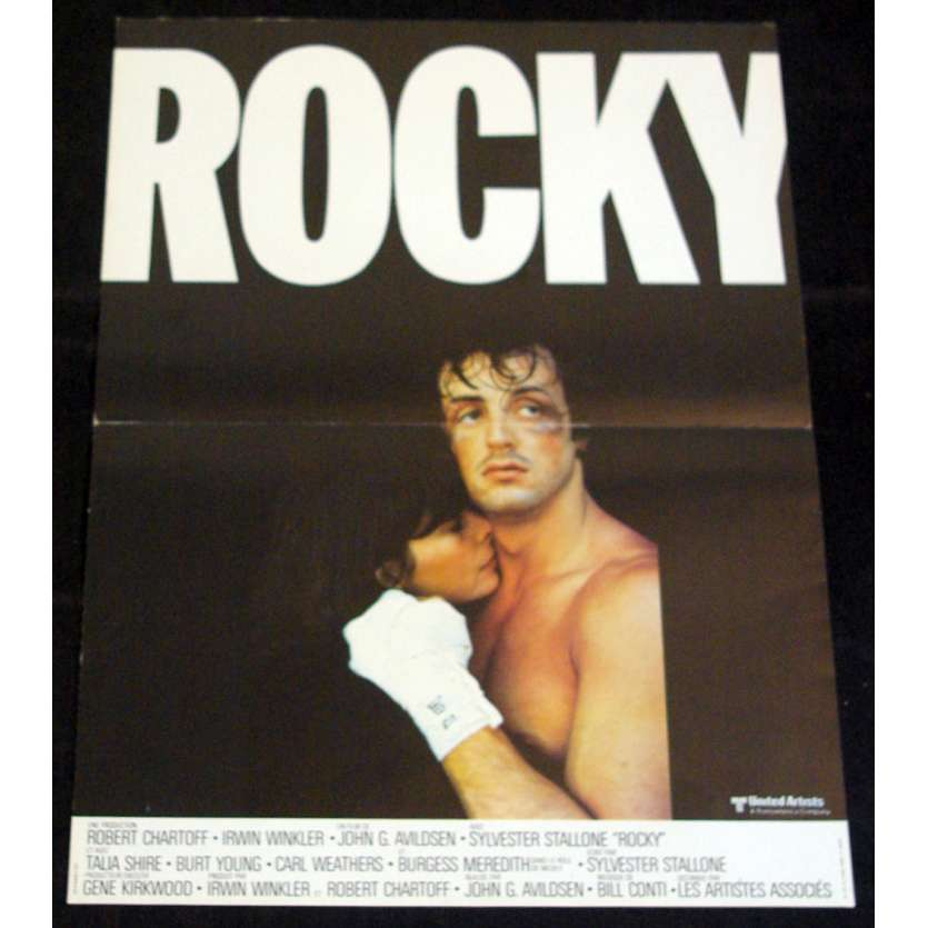 ROCKY Affiche 40x60 – gloss FR '76 Sylvester Stallone