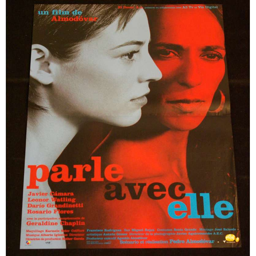 HABLA CON ELLA French Movie Poster 47x63 '02 Pedro Almodovar