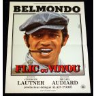 FLIC OU VOYOU French Movie Poster 15x21 '78 Jean-Paul Belmondo