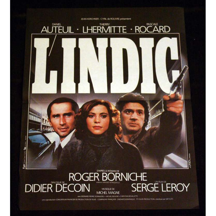 INDIC French Movie Poster 15x21 '83 Auteuil, Lhermitte, Rocard