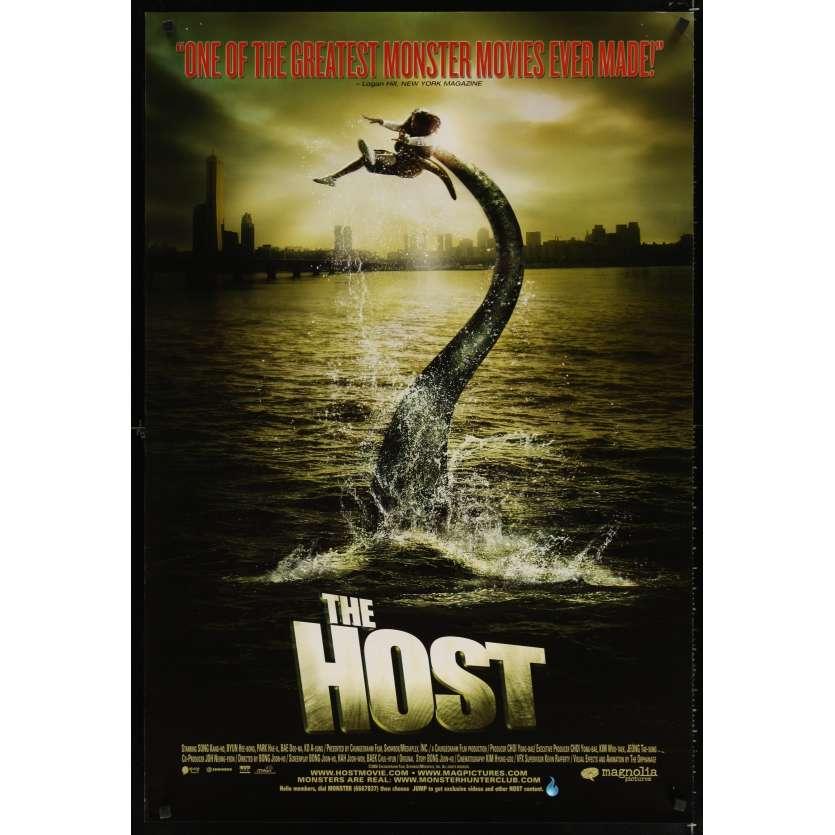 HOST DS 1sh '06 Gwoemul, Korean monster horror thriller, image of monster & victim