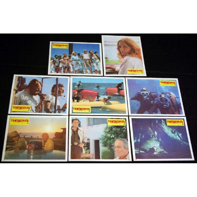 TENTACULES Photos exploitation x8 '83 Henry Fonda, John Huston