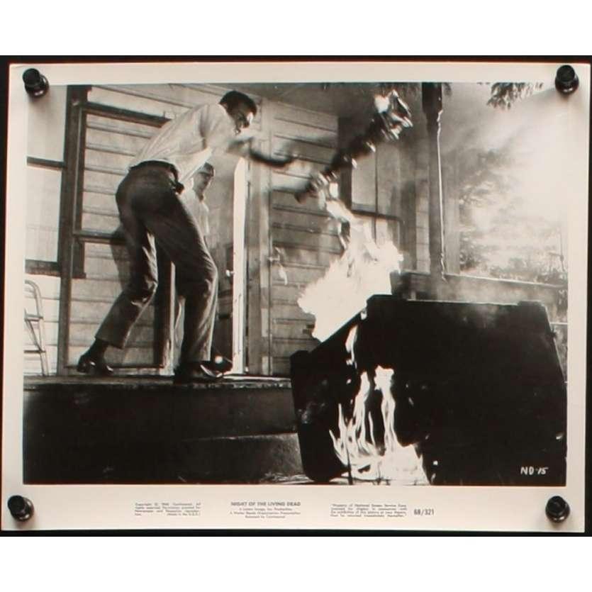 NUIT DES MORTS-VIVANTS Photo de presse N1 '68 George Romero living dead