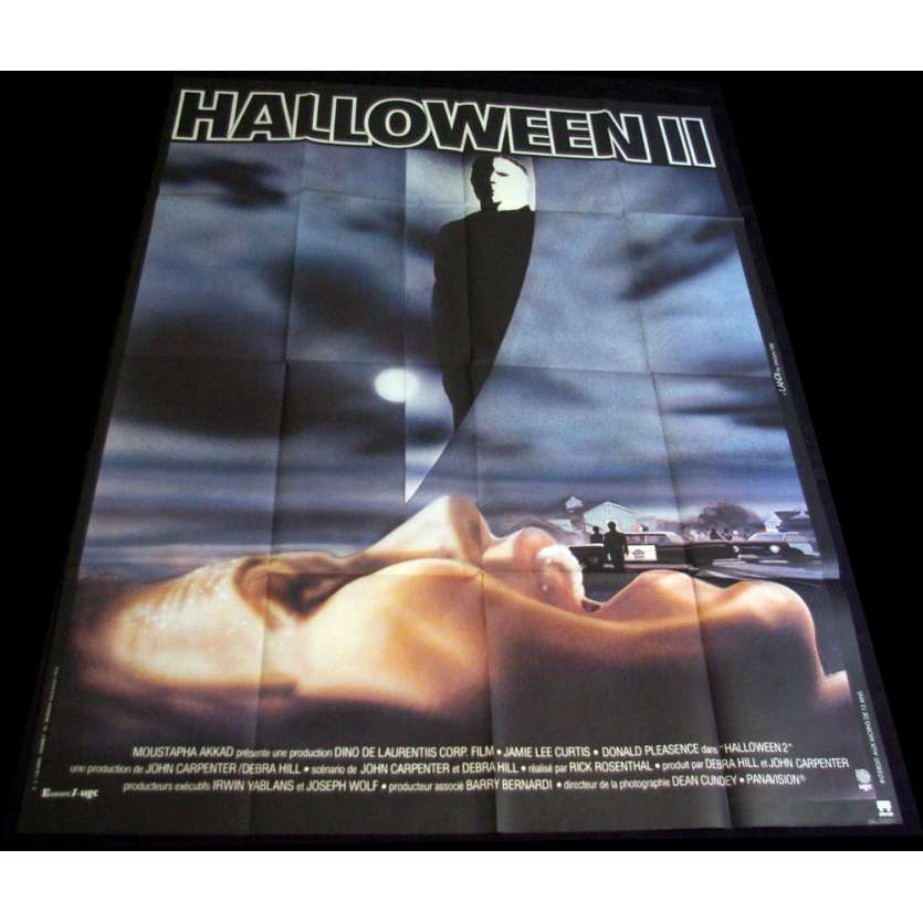 HALLOWEEN II Movie Poster 47x63 '81 Jamie Lee Curtis, John Carpenter