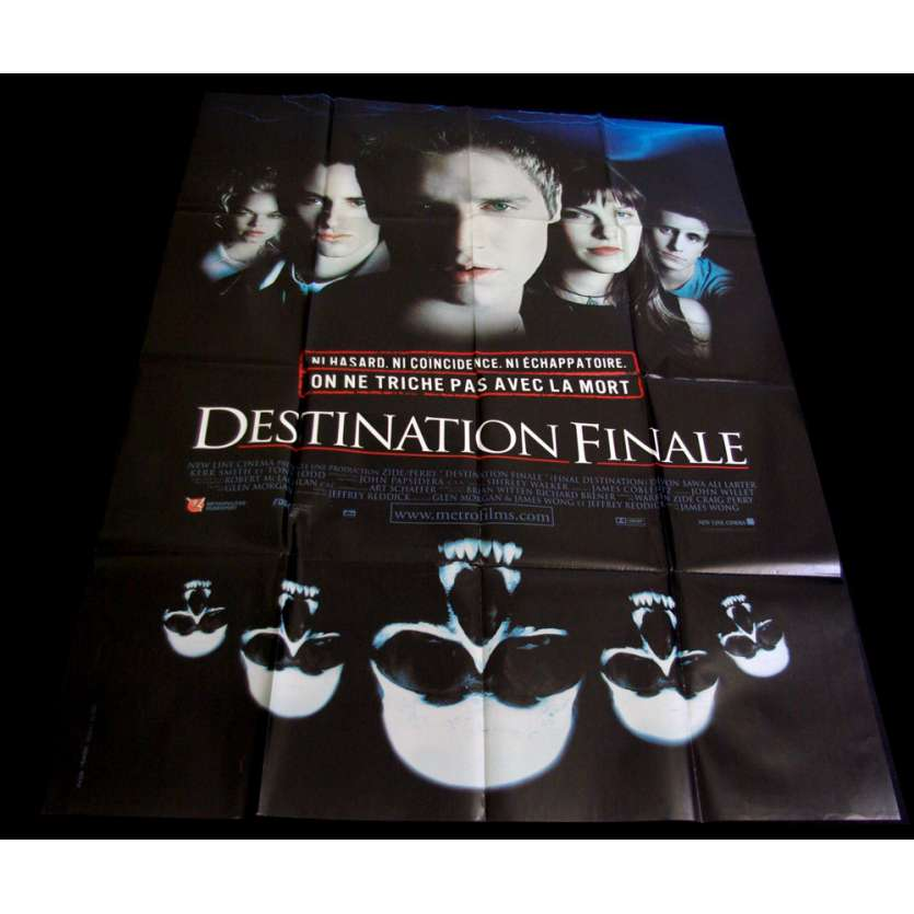 DESTINATION FINALE Affiche 120x160 FR '00 James Wong Horror