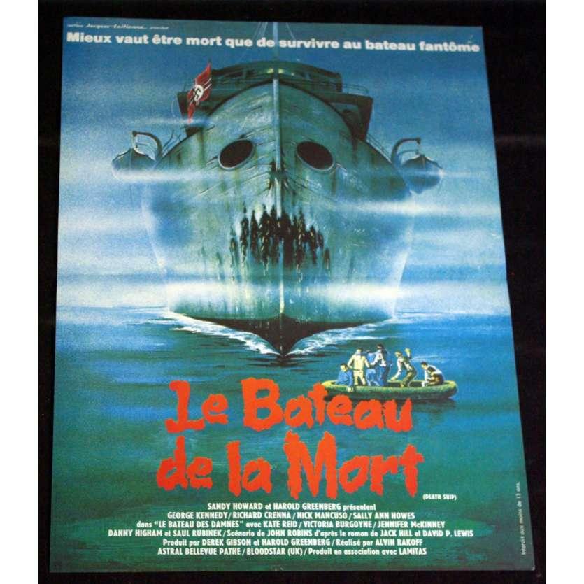 BATEAU DE LA MORT Affiche 40x60 FR '80