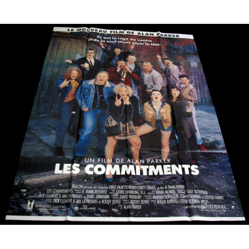 COMMITMENTS French Movie Poster 47x63 FR '91 Alan Parker