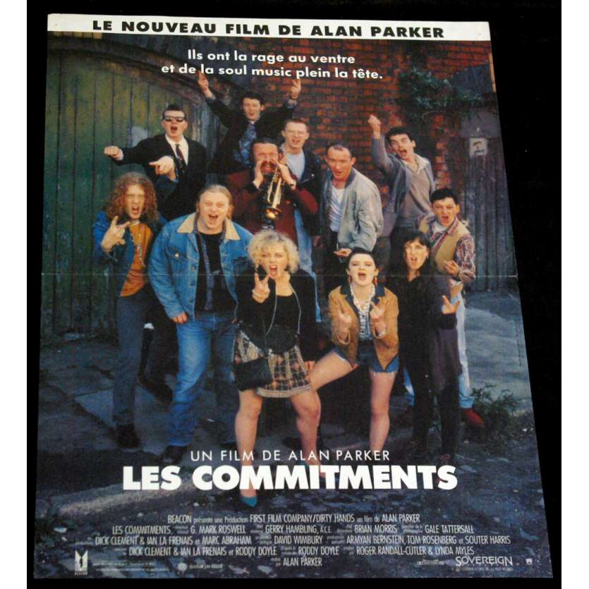 COMMITMENTS French Movie Poster 15x21 FR '91 Alan Parker