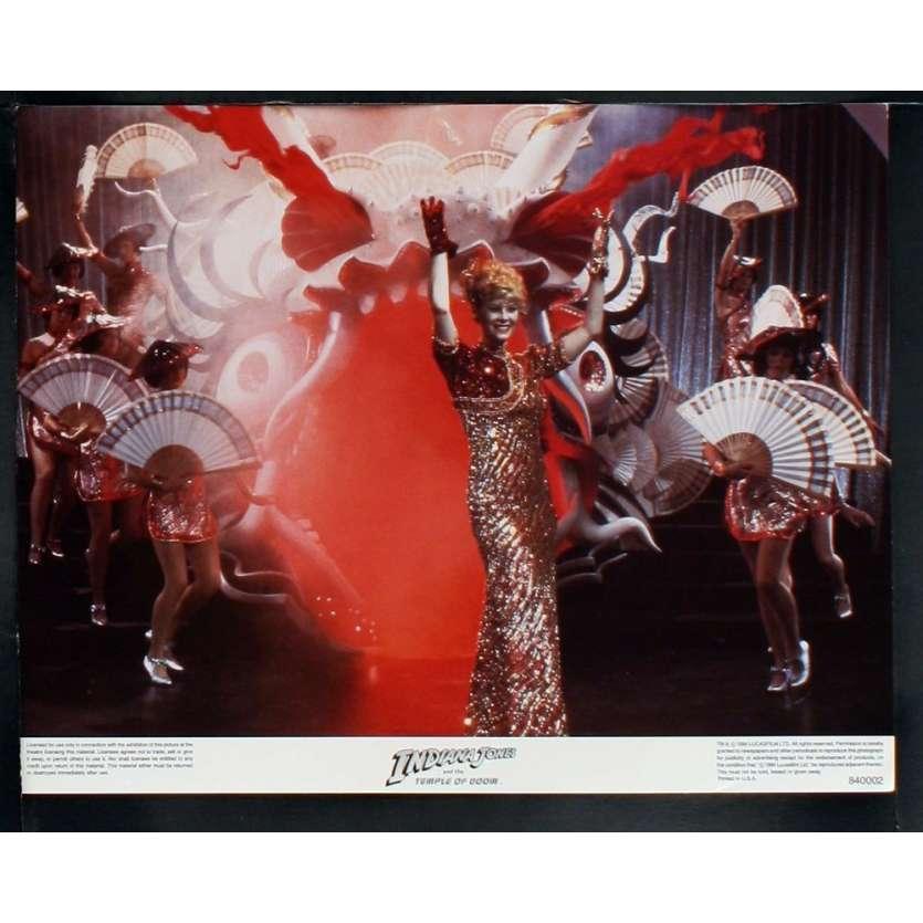 INDIANA JONES Photos exploitation N8 28x36 US '84 Spielberg, Ford Lobby Card