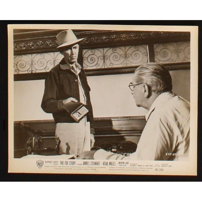 POLICE FEDERALE ENQUETE Photo presse 20x25 US '59 James Stewart