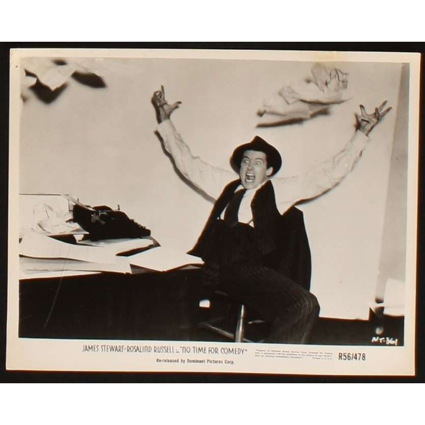 FINIE LA COMEDIE Photo presse 20x25 US R56 James Stewart
