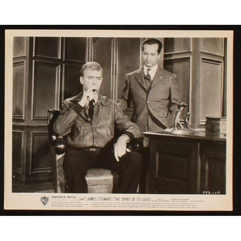ODYSSEE DE CHARLES LINDBERG Photo presse 20x25 US '57 James Stewart