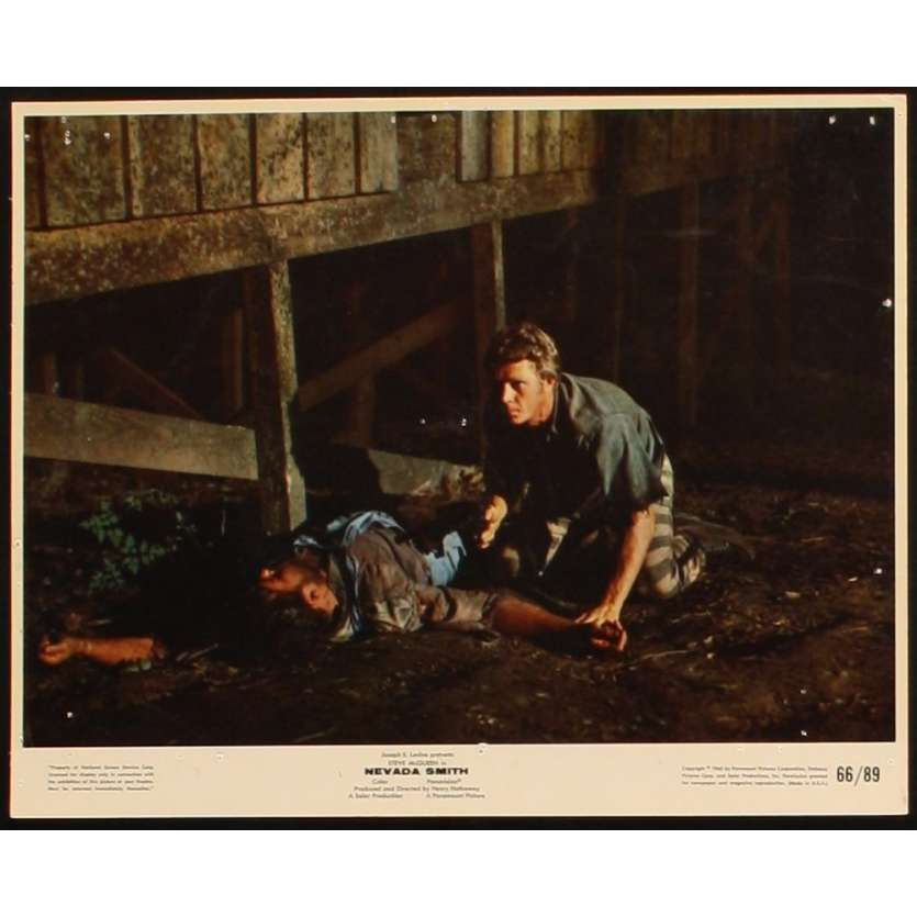 NEVADA SMITH Lobby Card 8X10 '66 Henry Hathaway, Steve McQueen photo