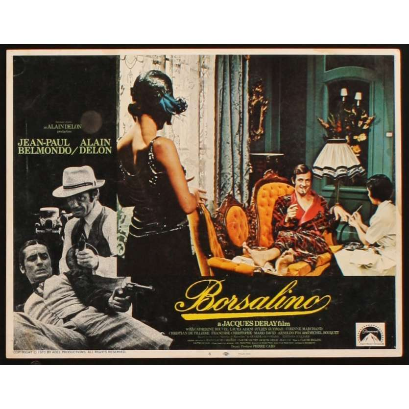 BORSALINO Lobby card 04 '70 Jean-Paul Belmondo, Alain Delon, Jacques Deray