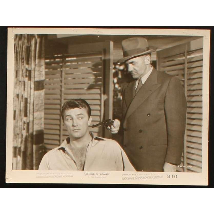 UNE ESPECE DE GARCE Photo Presse 20x25 US '51 Robert Mitchum