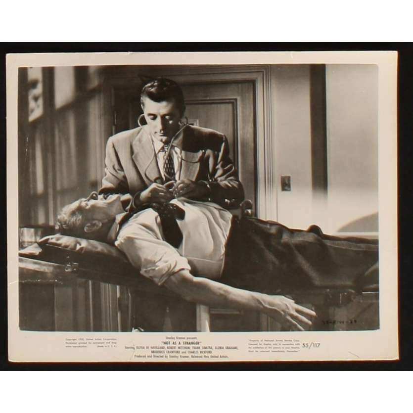 NOT AS A STRANGER Movie Still 8x10 '55 Robert Mitchum, Franck Sinatra