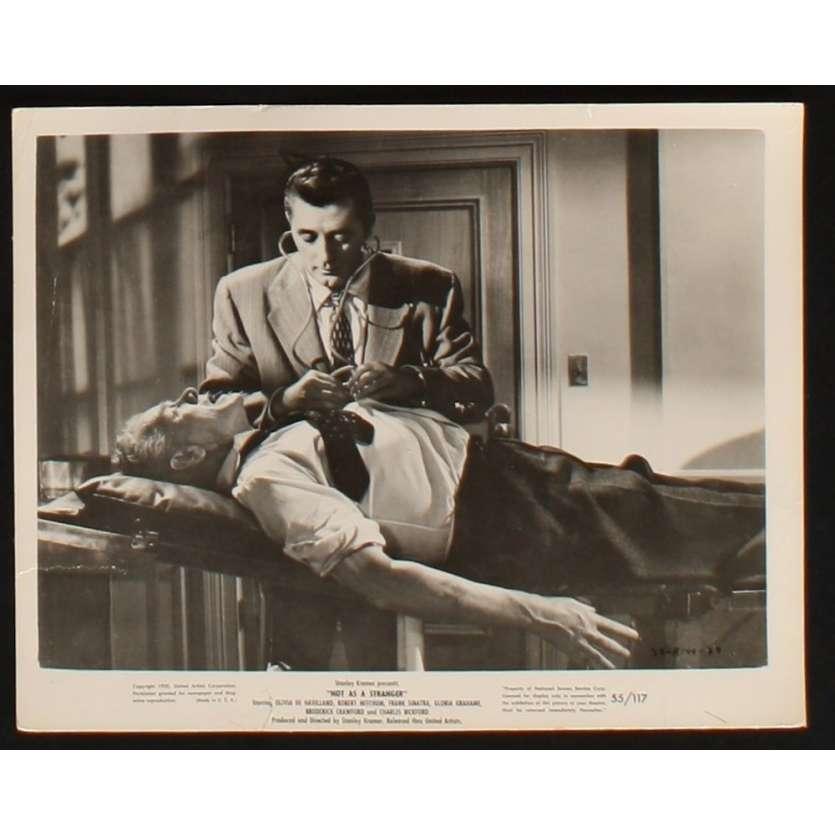 POUR QUE VIVENT LES HOMMES Photo Presse 20x25 US '55 Robert Mitchum, Franck Sinatra