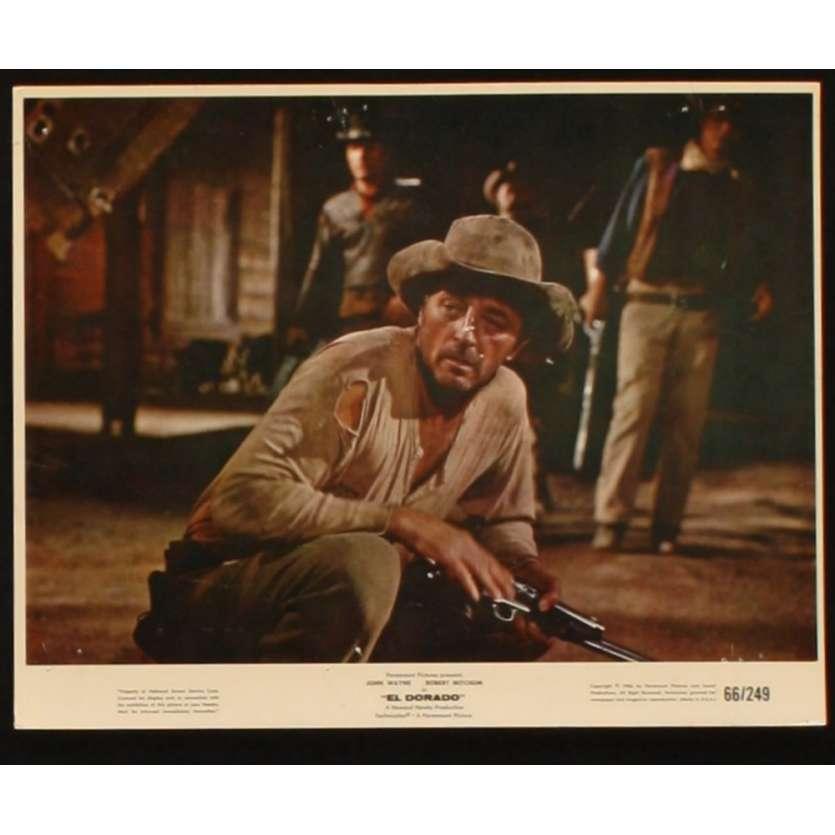 EL DORADO Lobby Card 8x10 '66 John Wayne, Robert Mitchum