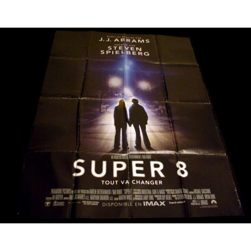 SUPER 8 French Movie Poster 47x63 '11 J.J Abrams