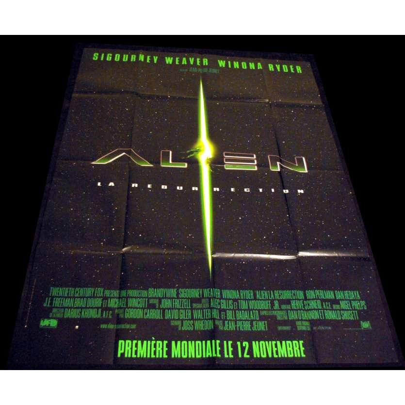 ALIEN IV French Movie Poster 47x63 '97 Sigourney Weaver, Jean-pierre jeunet