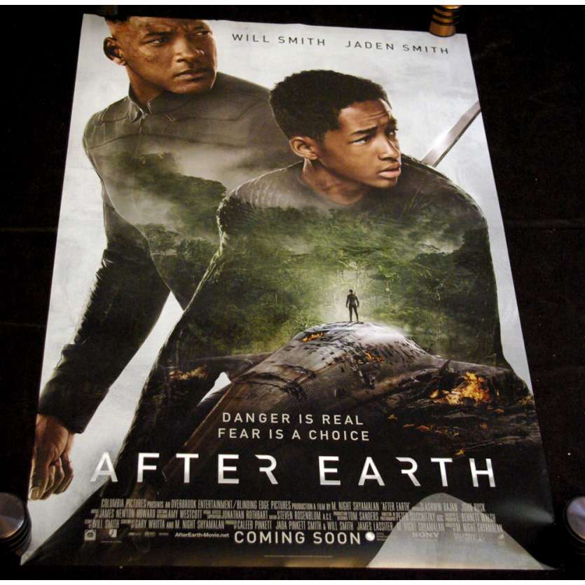 AFTER EARTH Affiche US N1 '13 Will Smith, Shylaman