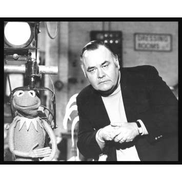 MUPPET SHOW Rare Photo de presse TV 2 US '79 Jonathan Winters, Jim Henson