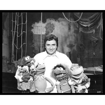 MUPPET SHOW Rare Photo de presse TV 3 US '79 Dudley Moore, Jim Henson