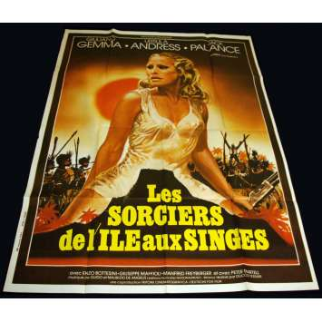 SAFARI EXPRESS French Movie Poster 47x63 '76 Ursula Andress, Jack Plance
