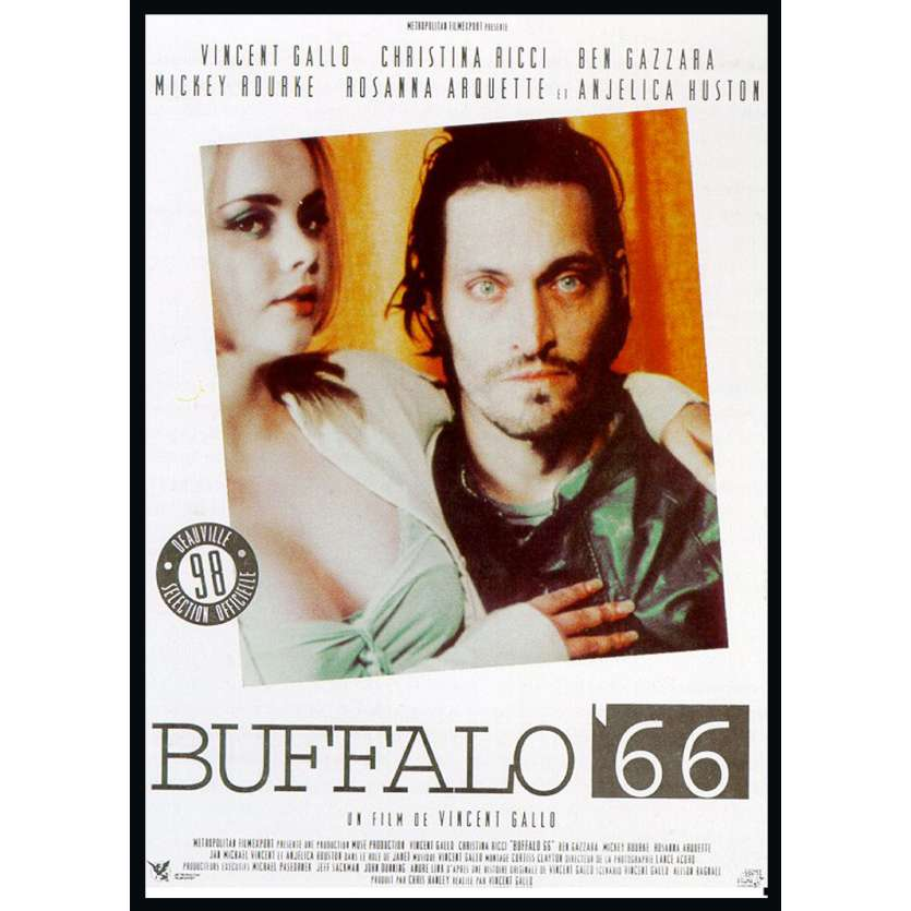 BUFFALO 66 Affiche 120x160 FR '98 Vincent Gallo Movie Poster