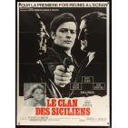 CLAN OF SICILIANS French Movie Poster 15x21 '69 Delon, Gabin, Ventura