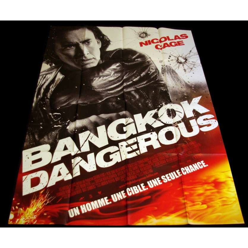 BANGKOK DANGEROUS French Movie Poster 47x63 '08 Nicolas Cage, Pang brothers
