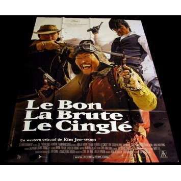 BON, LA BRUTE ET LE CINGLE Affiche 120x160 FR '08 Kim Jee-Woon
