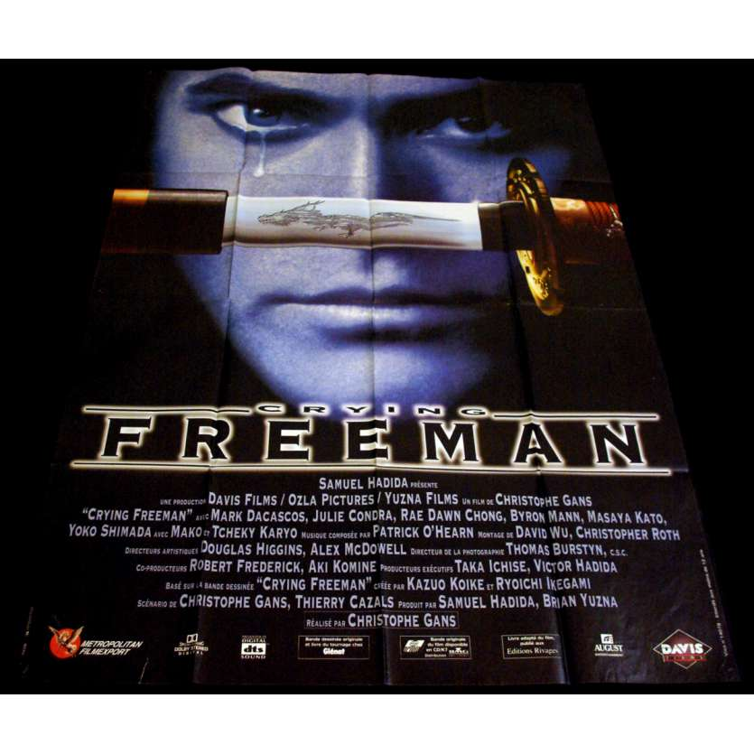 CRYING FREEMAN French Movie Poster 47x63 '95 Christophe Gans