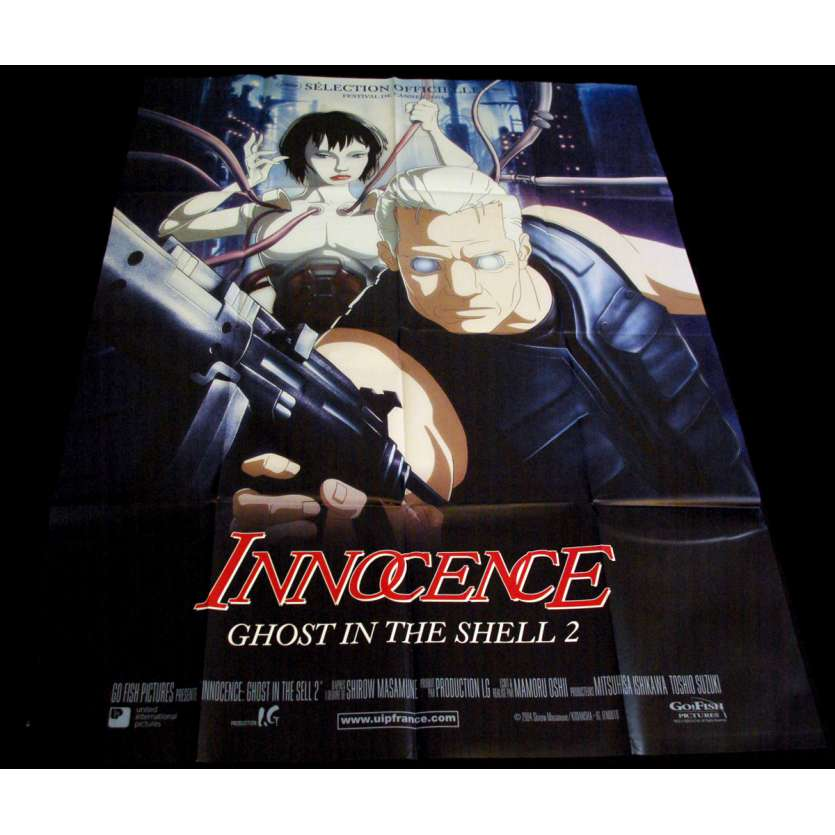 GHOST IN THE SHELL 2 French Movie Poster 47x63 '04 Mamoru Oshii, Innocence