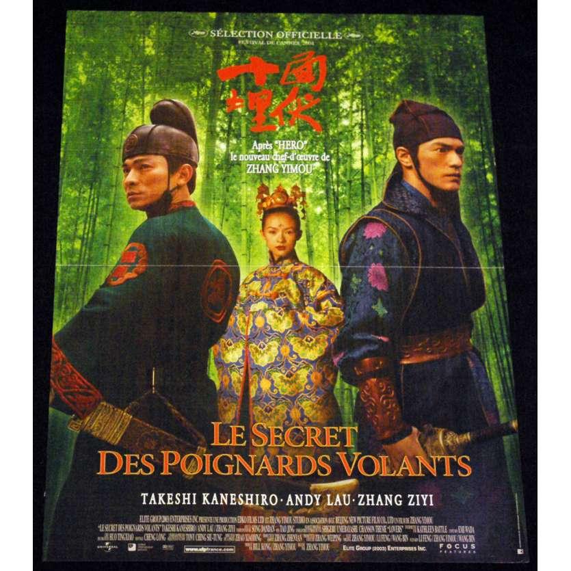 HERO French Movie Poster 15x21 '02 Zhang Yimou, Ying xiong