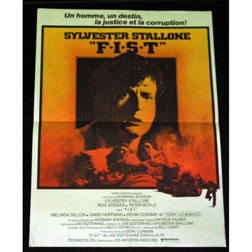 FIST French Movie Poster 15x21 '78 Sylvester Stallone