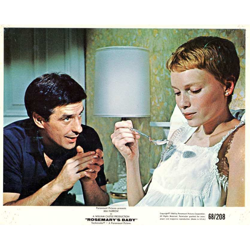 ROSEMARY'S BABY 8x10 lobby card N01 '68 directed by Roman Polanski, Mia Farrow