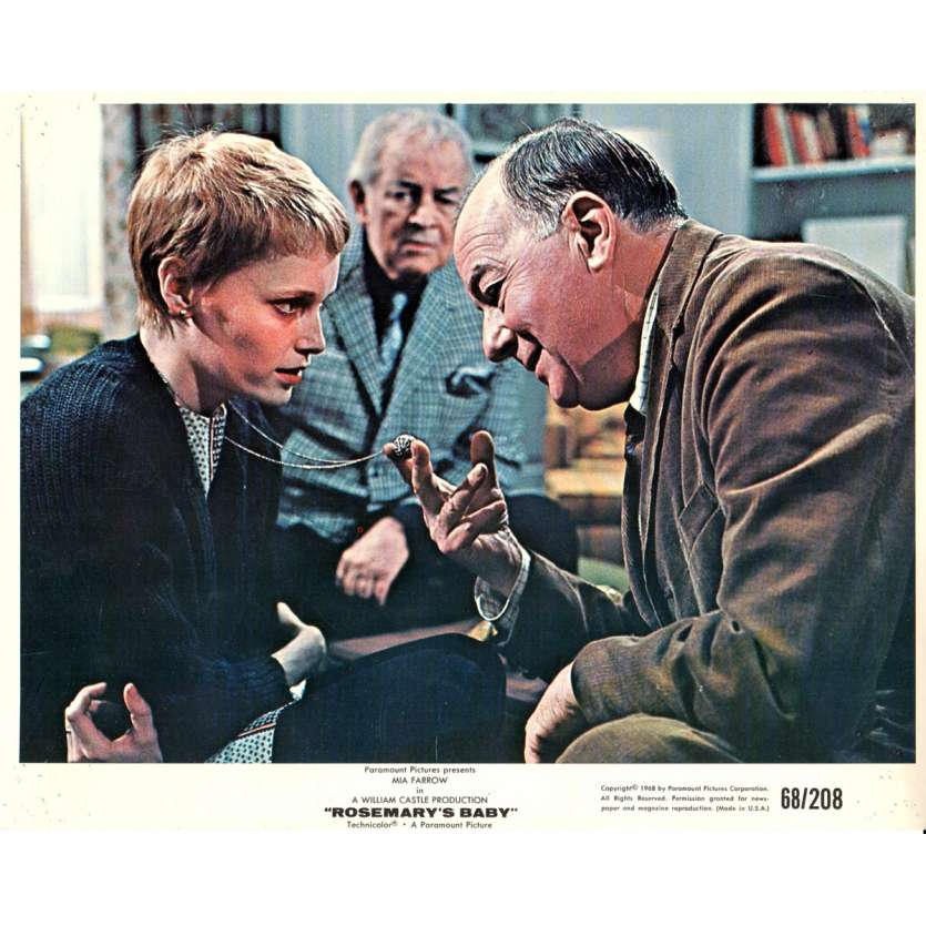 ROSEMARY'S BABY 8x10 lobby card N05 '68 directed by Roman Polanski, Mia Farrow