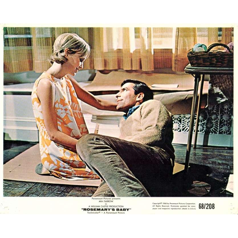 ROSEMARY'S BABY Photo exploitation 20x25 N06 US '68 Roman Polanski Mia Farrow Lobby Cards