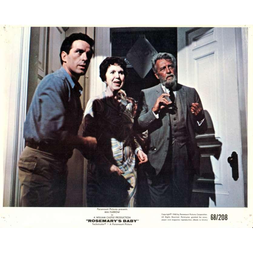 ROSEMARY'S BABY 8x10 lobby card N10 '68 directed by Roman Polanski, Mia Farrow