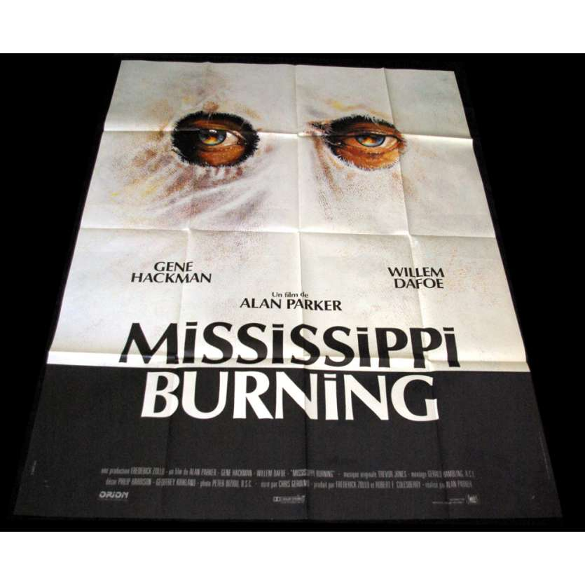 MISSISSIPI BURNING Affiche 120x160 FR '88 Costa Gavras, Gene Hackman