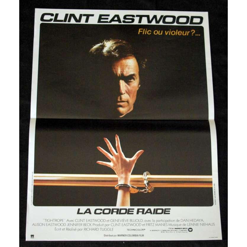 CORDE RAIDE Affiche 40x60 FR '84 Clint Eastwood, Dirty Harry